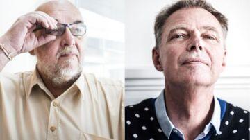 Thomas Willers Madsen har aldrig i sit liv »mødt en mand så aktiv« som Klaus Riskær Pedersen, som har været fødselshjælper for et nyt avanceret IT-system til logistik. Foto: Anne Bæk