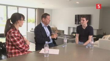 Andreas Christensen inviterede Mette Cornelius og Frank Arnesen hjem i privaten i London. Få hele interviewet med den danske forsvarsspiller her.