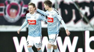 SønderjyskEs Niki Zimling udlignede til 1-1 mod FC Midtjylland. Men uafgjort ville sende SønderjyskE i den svære pulje 1.