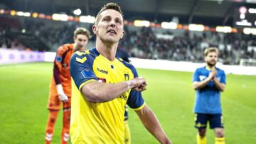Brøndbys Kamil Wilczek var med to scoringer den helt store matchvinder mod FC Midtjylland.