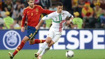 Cristiano Ronaldo og Portugal skal møde Spanien i deres første kamp ved VM i Rusland.