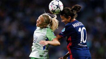 Pernille Harder og Wolfsburg tabte Champions League-finalen til Lyon efter forlænget spilletid.