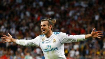 Gareth Bale scorede et sensationelt saksespark.