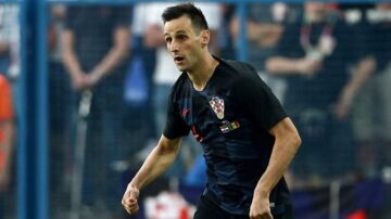 Nikola Kalinic når tilsyneladende ikke at komme i aktion for Kroatien ved VM.
