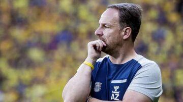 Brøndbys cheftræner, Alexander Zorniger, pønser stadig på sommertilføjelser (Foto: Liselotte Sabroe/Scanpix 2018)