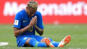 Neymar lod tårene få frit løb, da dommeren fløjtede kampen mod Costa Rica af.