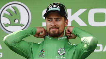 Peter Sagan og Bora Hansgrohe-holdet oplevede en ret aparte situation på deres hotel før Tourens 7. etape. (EPA/SEBASTIEN NOGIER)