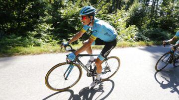 Jakob Fuglsang på sjette etape af året Tour de France.