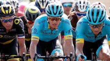 Jakob Fuglsang på syvende etape af årets Tour de France.