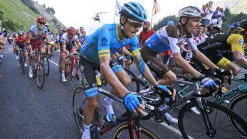 Jakob Fuglsang på 10. etape af Tour de France.