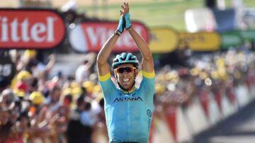 Omar Fraile vandt 14. etape af Tour de France.