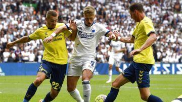 Søndagens derby mellem FCK og Brøndby endte med en 3-1 sejr til FCK på hjemmebane i Parken.