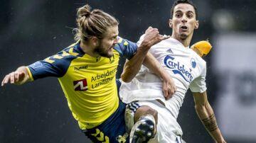 Kasper Fisker (tv.) havde aldrig prøvet at tabe et derby før.