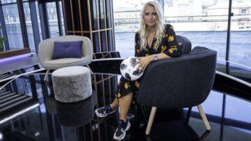 Josefine Høgh, billedet, er vært på 'Fodboldmagasinet'.