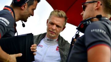Kevin Haas F1's Danish driver Kevin Magnussen is pictured ahead of the Formula One Hungarian Grand Prix race at the Hungaroring circuit in Mogyorod near Budapest, Hungary, on July 29, 2018. / AFP PHOTO / Andrej ISAKOVIC