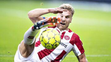 AaB's Tom van Weert i Superliga-kampen mellem AaB og Vejle Boldklub på Aalborg Portland Park, mandag 17. september 2018.