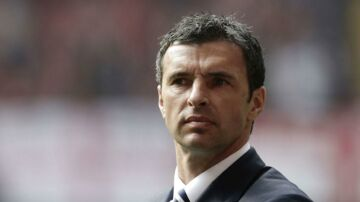 Gary Speed som lændstræner for Wales.