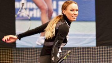 Caroline Wozniacki deltog ved et arrangement på Frederiksberg tidligere på ugen.