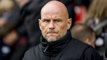 FCK træner Ståle Solbakken under Superliga kampen mellem Vejle Boldklub og FC København på Vejle Stadion søndag den 21. oktober 2018. Kampen endte 1-3.