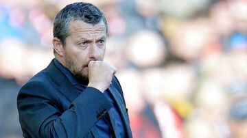 epa07158404 Fulham's manager Slavisa Jokanovic reacts during the English Premier League soccer match between Liverpool and Fulham at the Anfield in Liverpool, Britain, 11 November 2018. EPA/PETER POWELL EDITORIAL USE ONLY.No use with unauthorized audio, video, data, fixture lists, club/league logos or 'live' services. Online in-match use limited to 75 images, no video emulation.No use in betting, games or single club/league/player publications