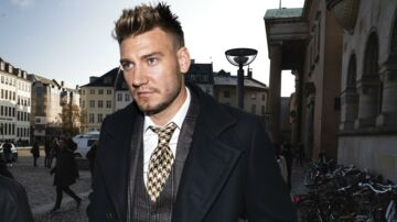 Nicklas Bendtner.