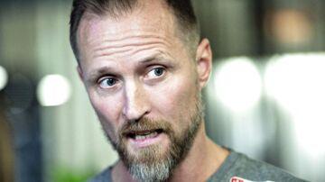 Landstræner Klavs Bruun Jørgensen.