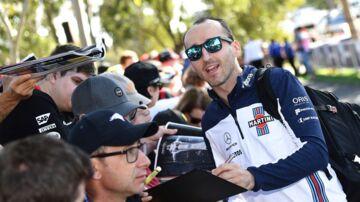 Robert Kubica bliver angiveligt ny kører hos Williams. (William WEST / AFP)