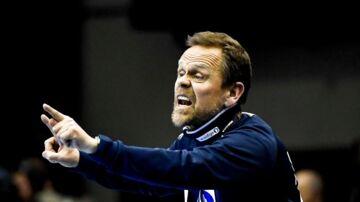 Norges landstræner, Thorir Hergeirsson. Arkivfoto.