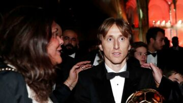Luka Modric vandt Ballon d'Or 3. december 2018.
