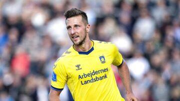 Brøndbys Kamil Wilczek risikerer karantæne. (Foto: Henning Bagger/Ritzau Scanpix)