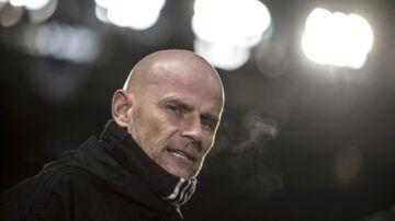 Ståle Solbakken i kampen mod Bordeaux.