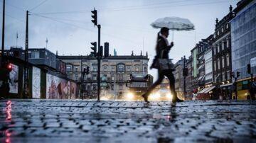 Småregn og gråvejr: Kun ét sted i landet er der mulighed for sol