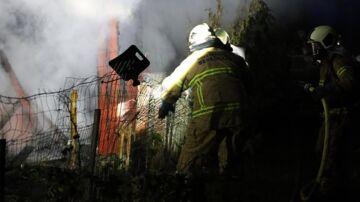 Mystiske brande i Brøndby Strand: Tre huse udbrændt