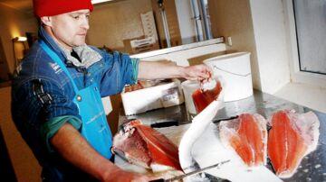 Kendt fiskehandel får sur smiley for rengøring