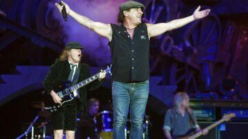Det legendariske rockband AC/DC på scenen i Parken d. 19. juni 2009. Nu er de gamle drenge tilbage med ny musik.