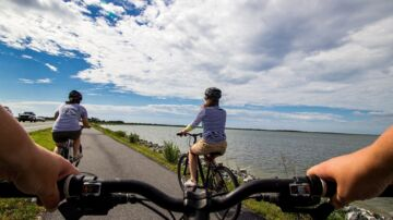 Brug cyklen så ofte som muligt i stedet for bil eller offentlig transport. På den måde kan du opbygge en sund og stærk krop, så du forebygger smerter. Arkivfoto Pixabay