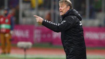 Danmarks landstræner, Åge Hareide.