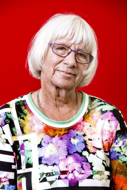 Anne Marie Dahl, 75, pensionist