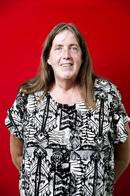 Lis Rasmussen, 62, førtidspensionist