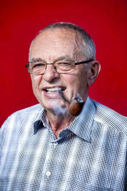 Ove Rasmussen, 71, pensionist.