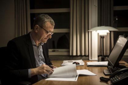 Tønders borgmester Henrik Frandsen (V).