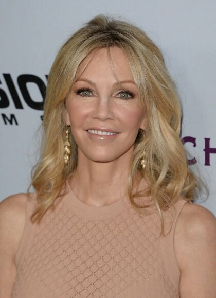 Heather Locklear strålede stadig i 29013 som the all californian-girl til premieren på 'Scary Movie 5', som hun medvirkede i.