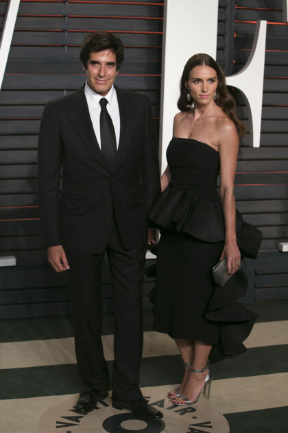 David Copperfield med sin kone Chloe Gosselin.
