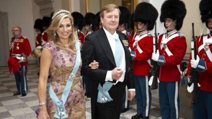 Kong Willem-Alexander og dronning Maxima Gallataffelet på Christiansborg Slot, lørdag den 26. maj 2018, blot få uger før dronning Maximas søsters pludselige død (Foto: Keld Navntoft/Scanpix)