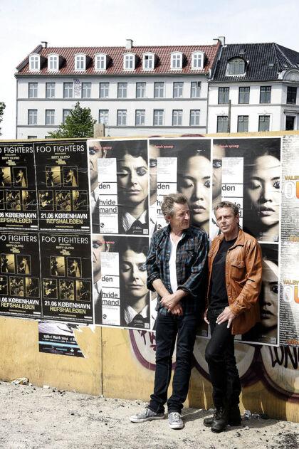Michael Falch og Peter Viskinde spillede i sin tid sammen i Malurt..