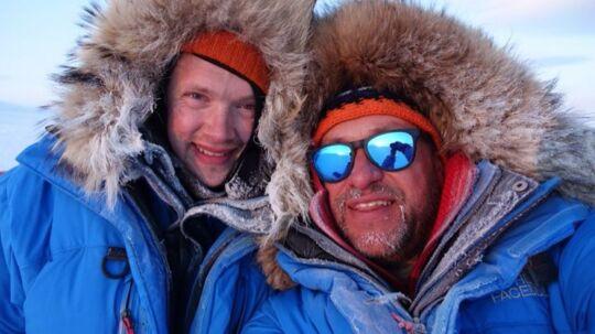 Polarforskerne Marc Cornelissen og Philip de Roo, som menes at være druknet i det canadiske Arktis.