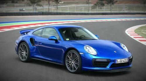 Den nye Porsche 911 Turbo rammer 100 km/t på 2,9 sekunder.
