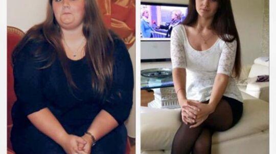 Fie Friedrichsen vejde for få år siden 140 kilo. Nu vejer hun 70.