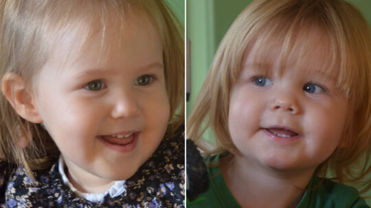 Josephine og Vincent fylder to år i dag