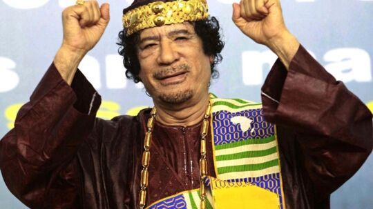 Muammar Gaddafi. Arkivfoto